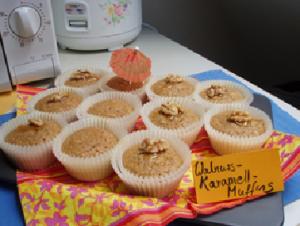 walnuss-karamell-muffins